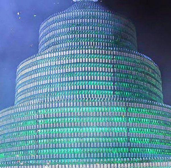 World's largest-bottle tree